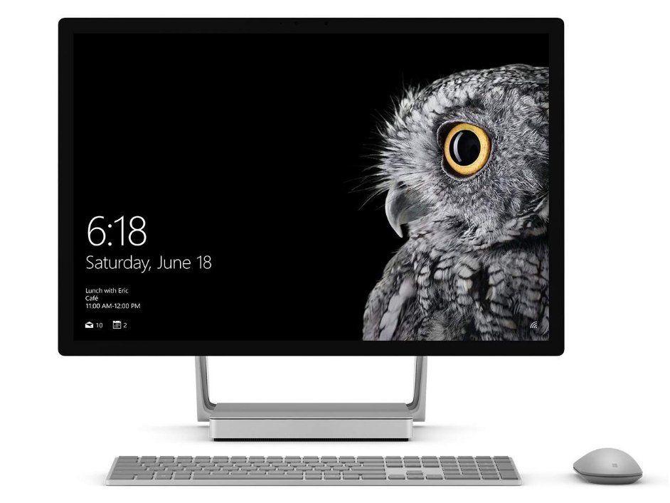 Microsoft Surface Studio 2 - graphic designer tools