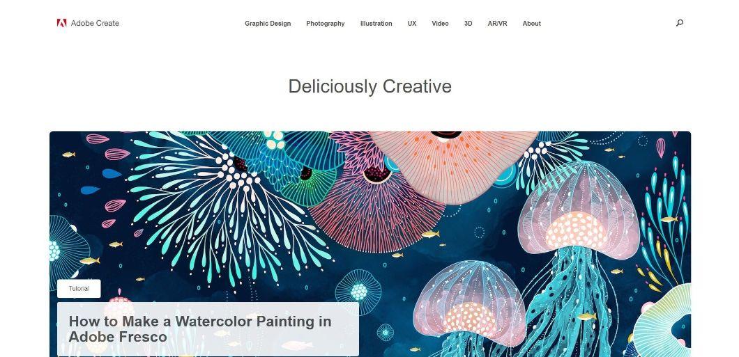 Adobe Create Magazine - blog de design