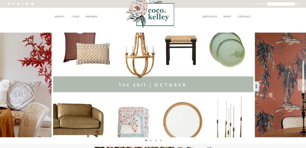 Coco Kelley- blog de design d'intérieur