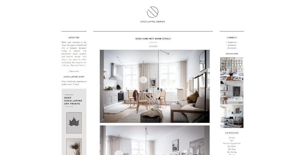 Coco Lapine Design - blog de design d'intérieur