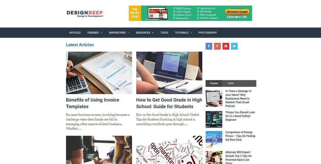 DesignBeep - blog de design