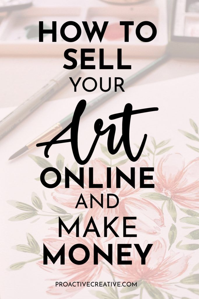 How to Sell your Art Online and Make Money