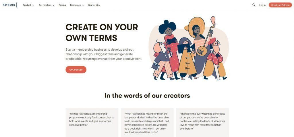 Patreon - How to sell your art online