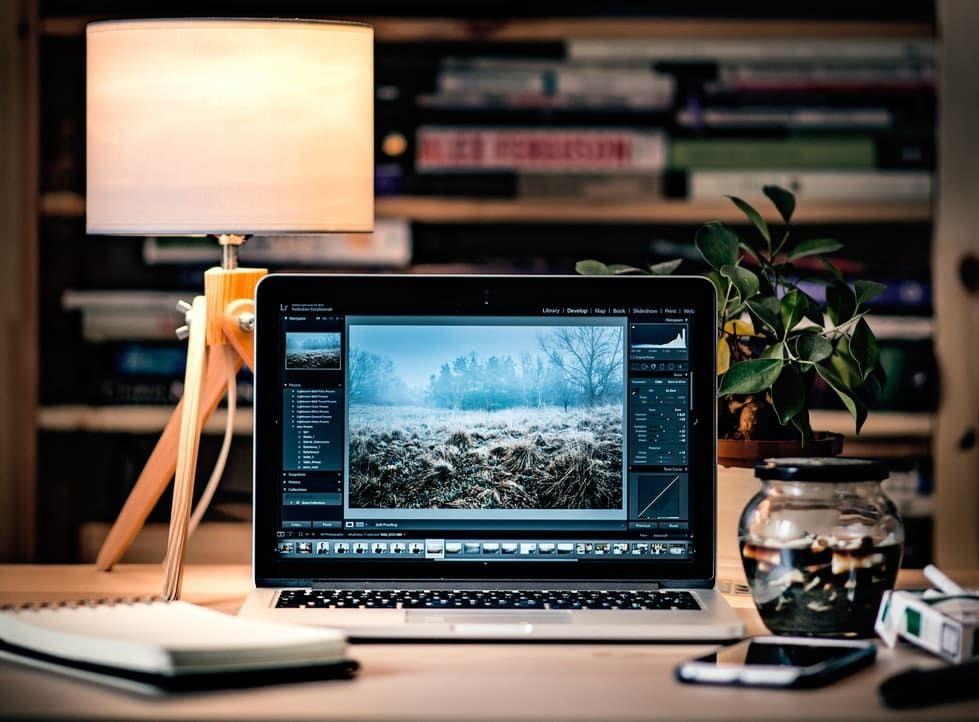 CV et portfolio de photographe