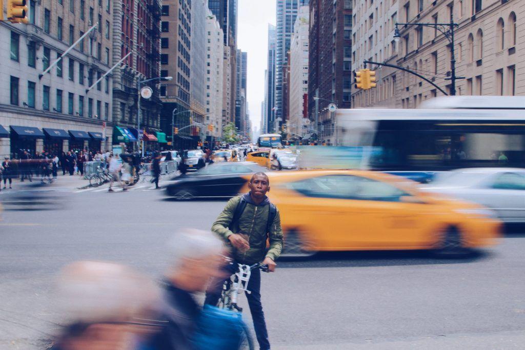 portrait - rues de New York