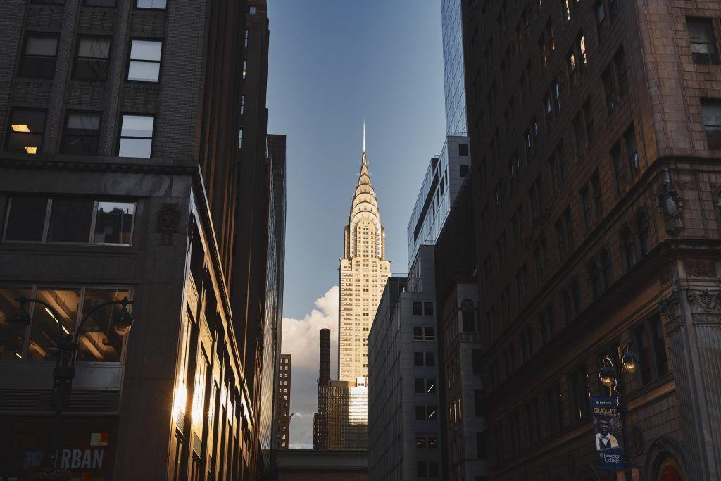 Gratte-ciel - Chrysler Building - Rues de New York