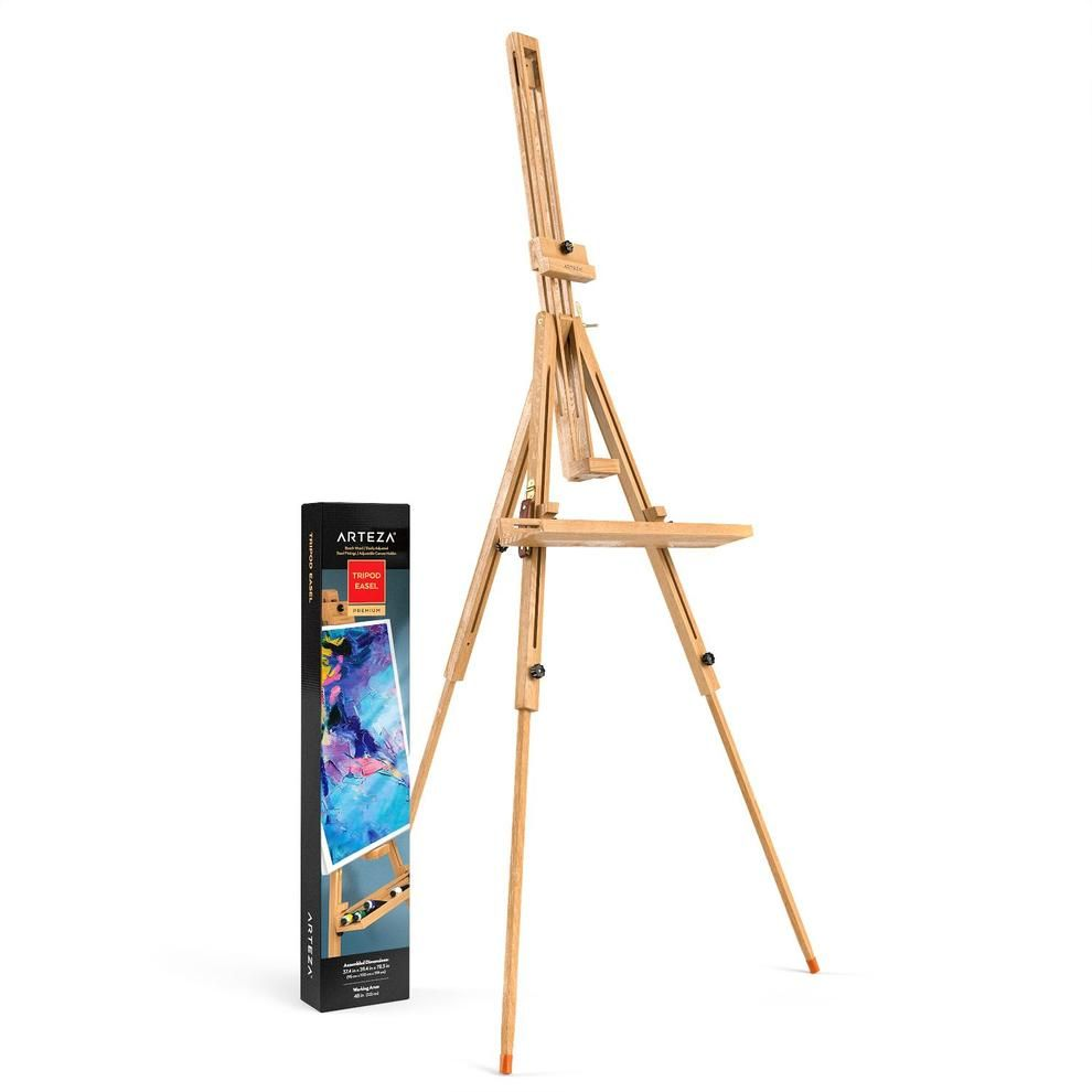 Support Arteza chevalet en bois
