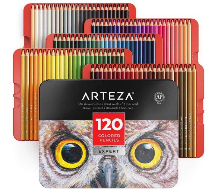 Best colored pencils for artists - Arteza