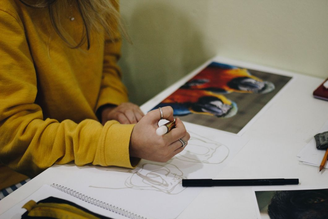 Conseils pour les artistes débutants - Commencez par des formes de base