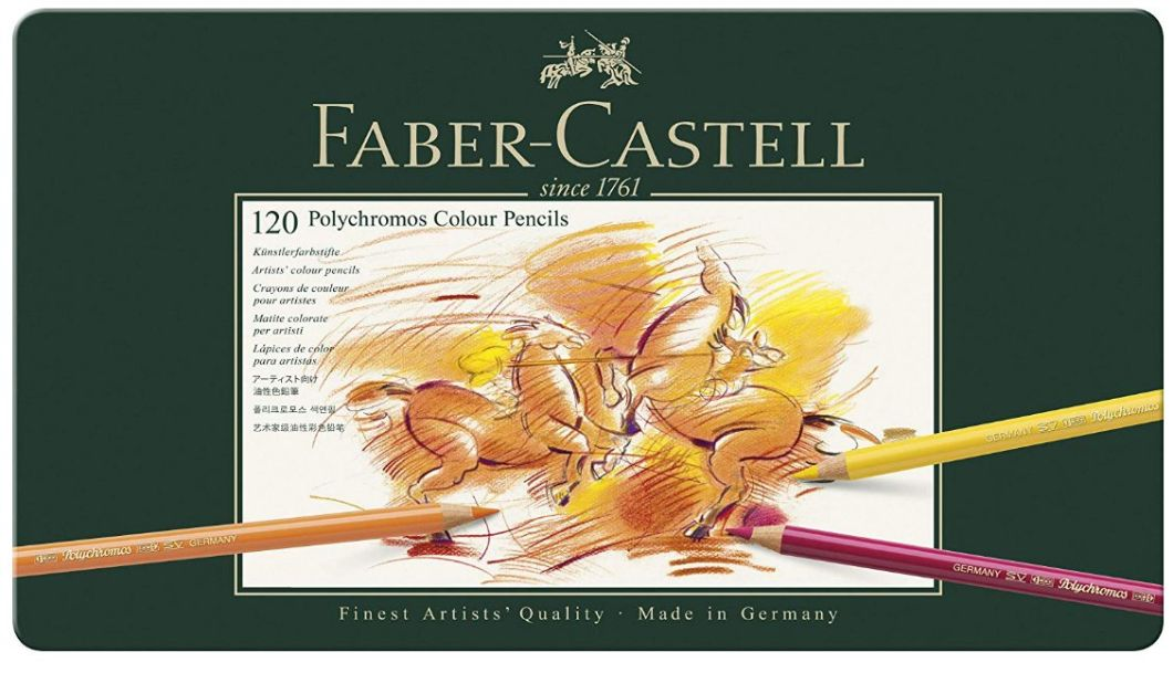Best colored pencils for artists - Faber Castell