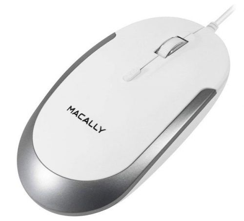 Macally Silent USB Mouse
