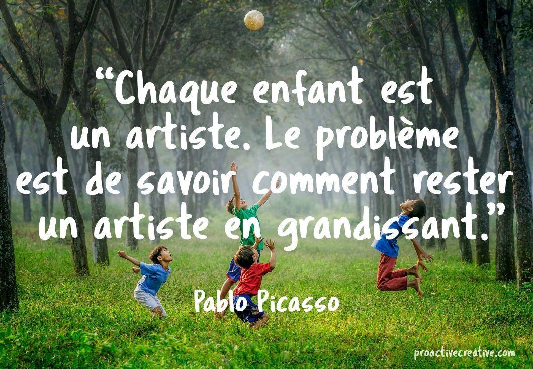 Citations D'art - Pablo Picasso