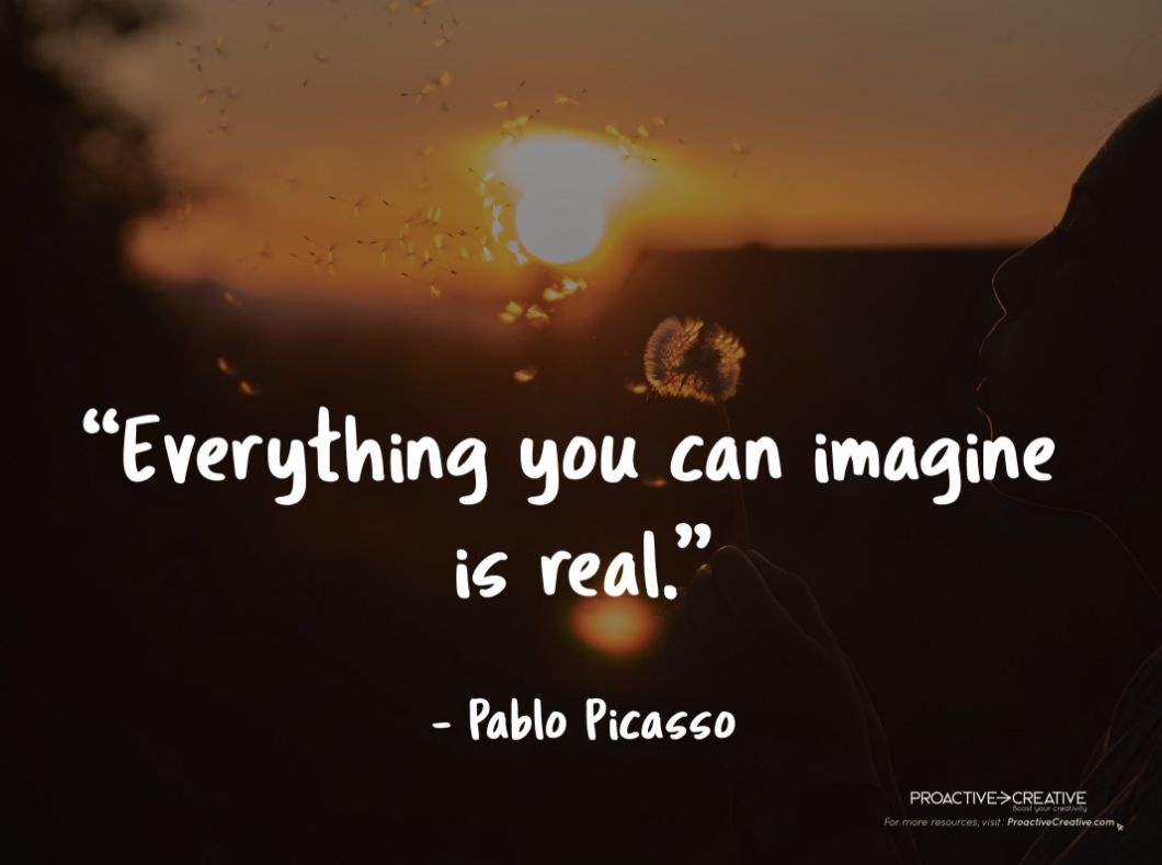 Quotes about creativity - Pablo Picasso