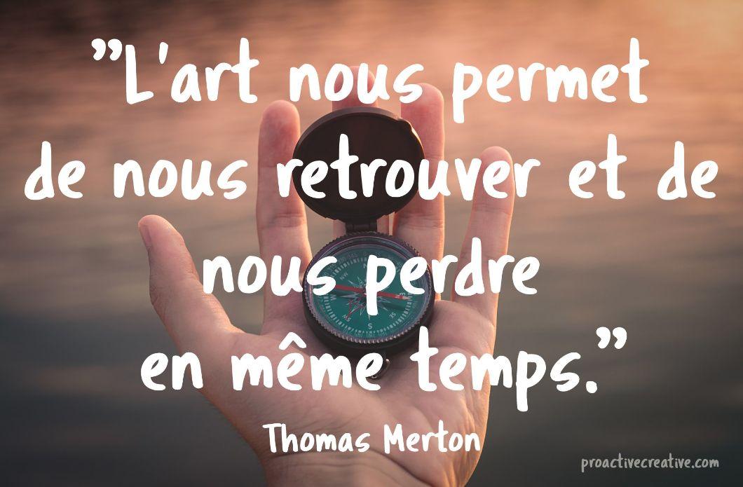 Citation d'art - Thomas Merton