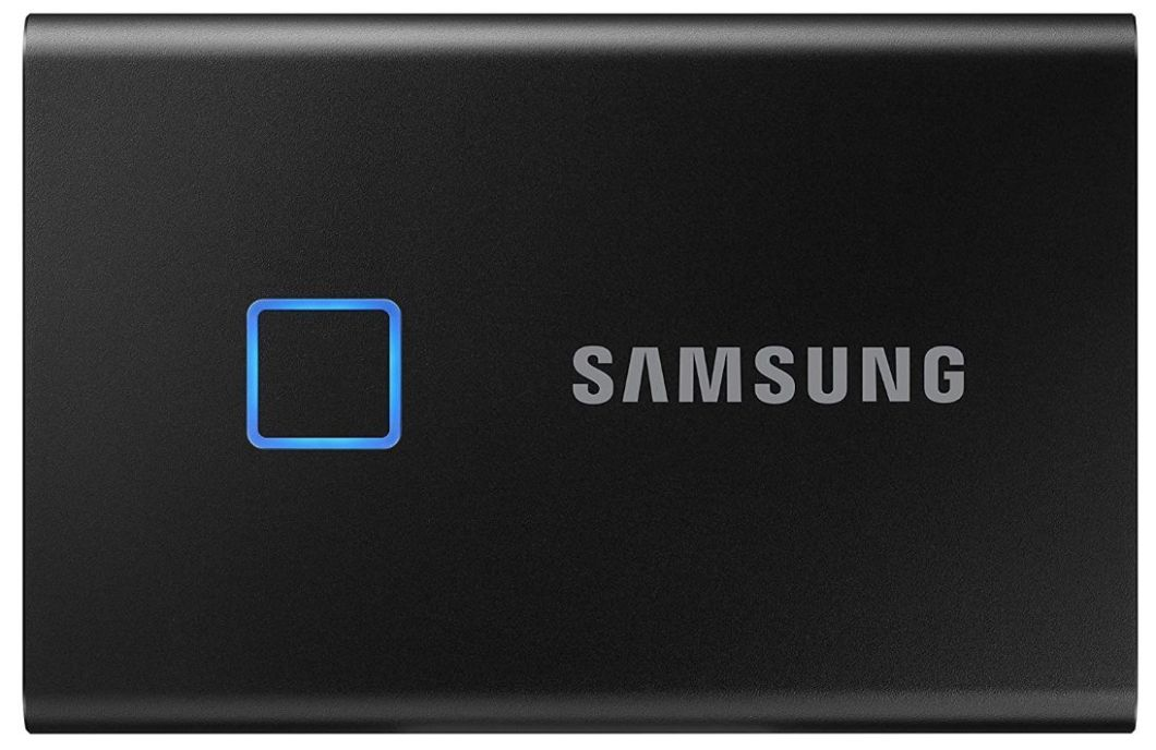 disque dur externe ssd - Samsung T7 Touch Portable SSD