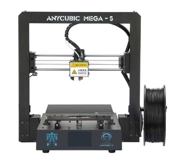 Best 3d printers under 200 - ANYCUBIC Mega-S New Upgrade 3D Printer