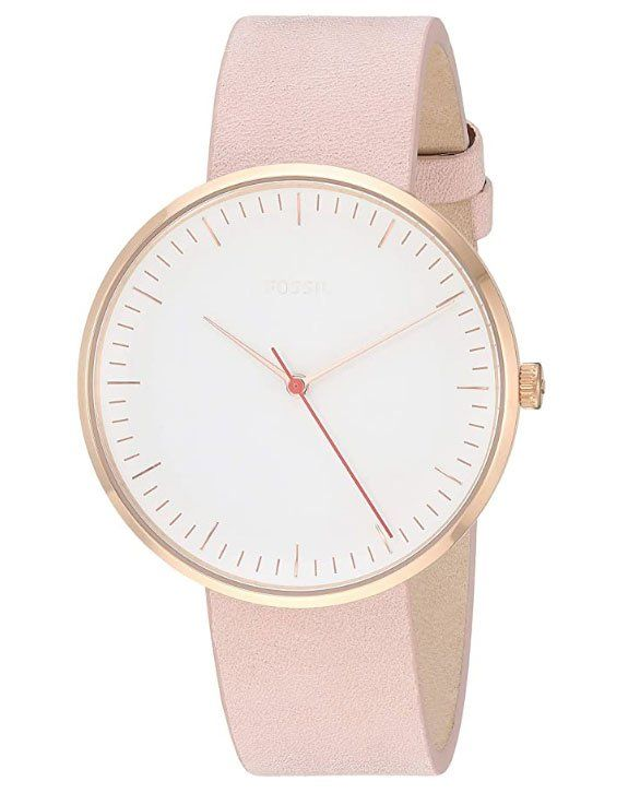 Fossil Women Essentialist Stainless Steel Casual Quartz Watch - Best gifts for minimalists