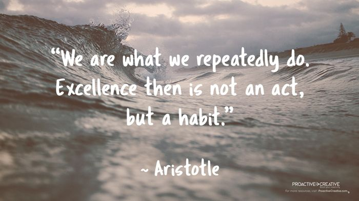 Quotes about taking action and habit