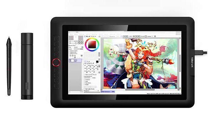 XP-PEN Artist 15.6 Pro tablette graphique avec ecran pas cher