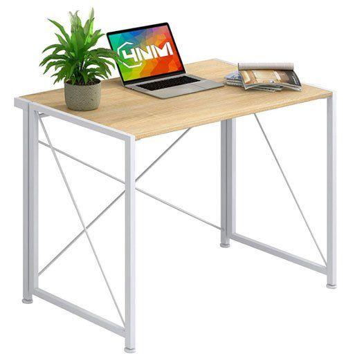 bureau pliant - Petit bureau pliant 4 NM pour ordinateur portable ou bureau à domicile
