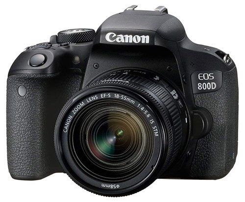 Canon EOS 800D Digital SLR - The best camera for art photography