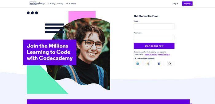 Codecademy - Best alternatives to Udemy