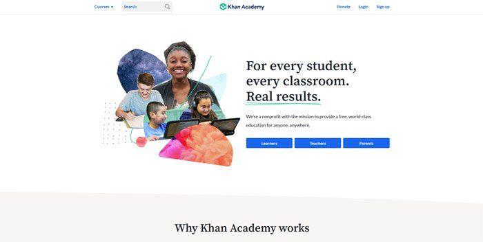 Khan Academy - Best alternatives to Udemy