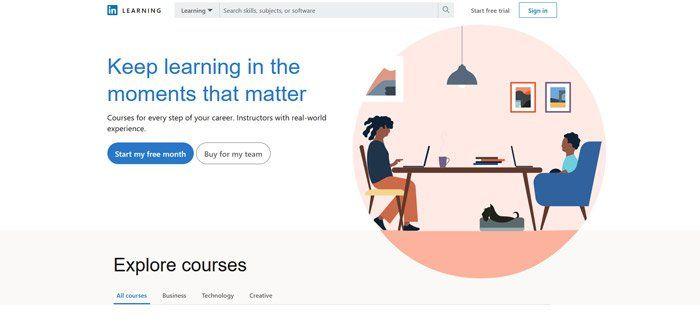 LinkedIn Learning - Best alternatives to Udemy