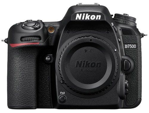 Nikon D7500 20.9MP DX-Format - The best camera for photographing art