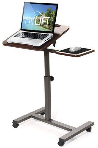 bureau réglable en hauteur - bureau ergonomique assis debout - Seville Classics