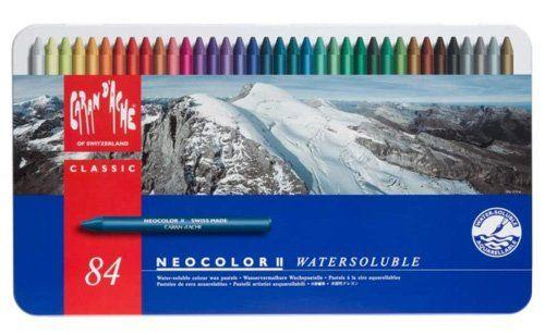 Best Watercolor Pencils for Artists - Caran d'Ache Neocolor II