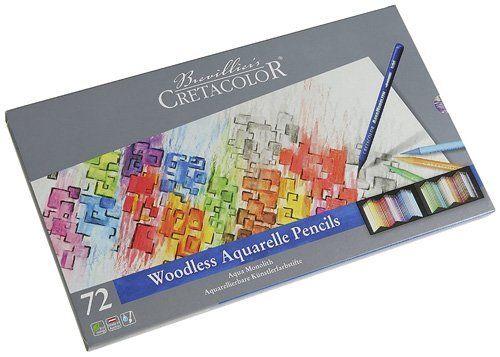 Best Watercolor Pencils for Artists - Cretacolor Aqua Monolith Refill