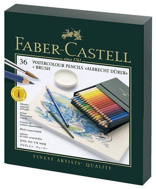 Best Watercolor Pencils for Artists - Faber-Castell Albrecht Durer Watercolor Pencil Studio Gift Set