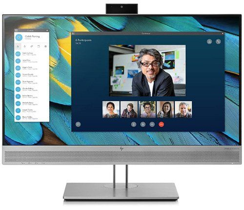 HP Elite Display - The best computer monitor with camera and microphone built-in