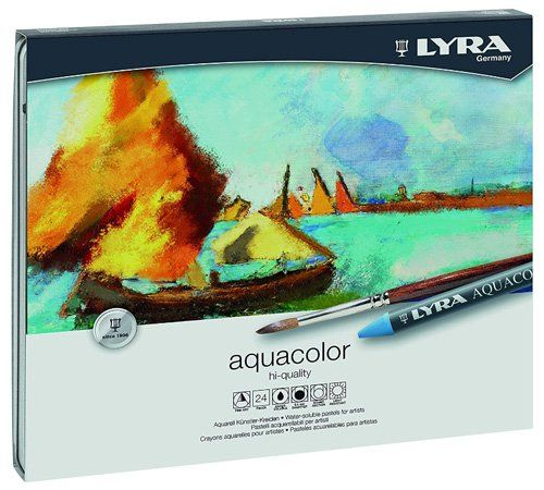 Best Watercolor Pencils for Artists - Aquacolor Watersoluble Crayons