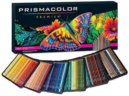 Best Watercolor Pencils for Artists - Prismacolor premier colored pencils