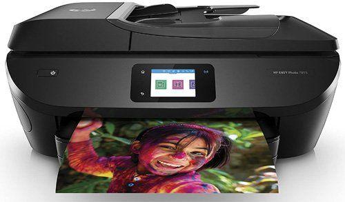 Les meilleures imprimantes pour les enseignants et l'école à la maison - HP ENVY Photo 7855 imprimante multifonction