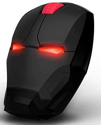 Best silent mouse for gaming - Iron Man Mouse, 2.4G Noiseless Wireless Mouse