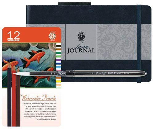 Meilleurs carnets de croquis à l'aquarelle pour artistes - Pentalic - Journal artistique de l'aquarelle