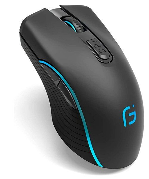 Best silent mouse for gaming - VEGCOO C8 Silent Click