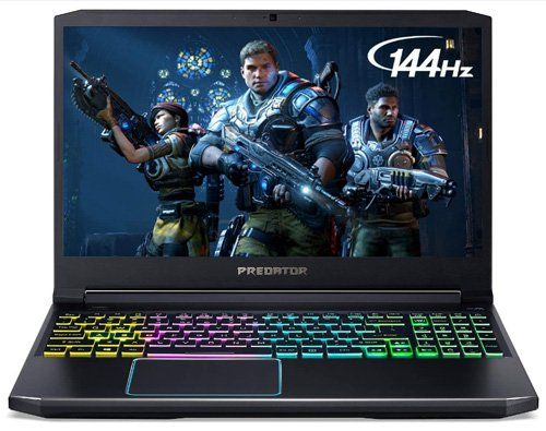 picture of Acer Predator Helios 300 as desktop replacement laptops