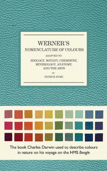 Les meilleurs livres sur les théories des couleurs - Werner's Nomenclature of Colours