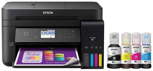 ink tank printer - Epson WorkForce ET-3750 EcoTank