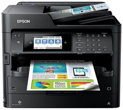 Ink tank printer - Epson Workforce Wireless Supertank