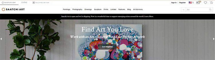 Saatchi Art affiliate program