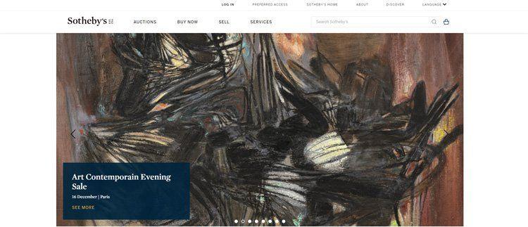 Sotheby's art affiliate program