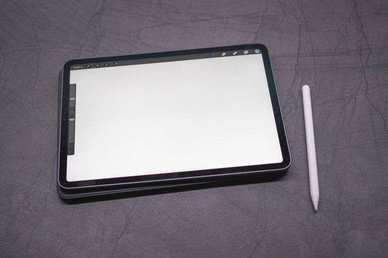 Tablet with pen & stylus