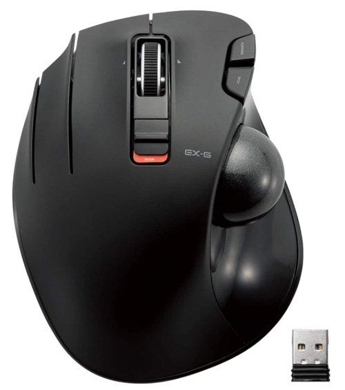 Best mouse for graphic design ELECOM Left-Handed mouse