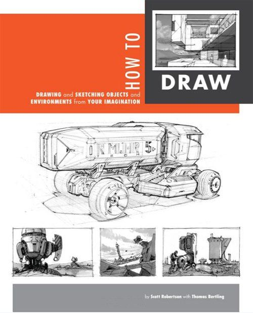 Perspective drawing book - How to Draw by Scott Robertson