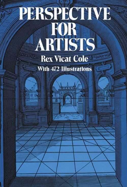 Perspective drawing book - Perspective for Artists by Rex Vicat Cole